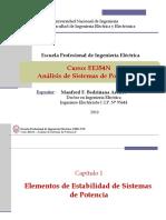 EE354 - Clase 3T2 - Seguridad Operativa - Procedimiento COES PR-08 2019-I