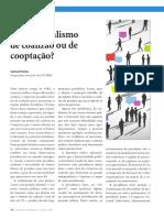 Presidencialismo de Coalizão ou Cooptação