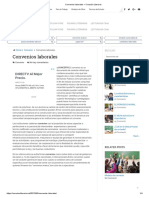 Convenios Laborales – Creación Literaria
