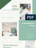 Green Minimal Listing Presentation