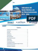 Indicadores Del Sector Eléctrico y de Las Telecomunicaciones 2014-2016