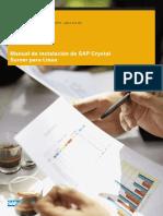 Instalacion SAP Crystal