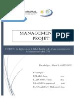 RAPPORT Management de Projet