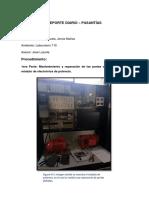 Reporte Diario 2