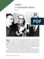 José Olympio e Guimarães Rosa