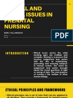 MCN Ethical and Social Issues in Prenatal Nursing