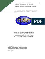 Freteurs_affréteurs_litiges