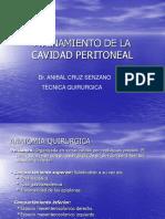 Avenamiento de La Cavidad Peritoneal
