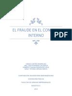 Fraude Control Interno