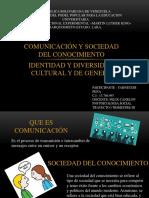 COMUNICACIÓN Y SOCIEDAD DEL CONOCIMIENTO