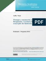 Kuffer - Tiempo y memoria en Walter Benjamin.pdf
