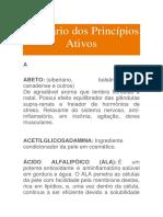Glossário Dos Princípios Ativos_Ocidental
