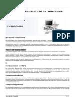 Arquitectura Basica de Un Computador