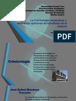Criminologia en Venezuela
