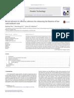 Powder Technology Volume 319 Issue 2017 [Doi 10.1016%2Fj.powtec.2017.06.030] Wen, Baofeng; Xia, Wencheng; Sokolovic, Jovica M. -- Recent Advances in Effective Collectors for Enhancing the Flotation Of