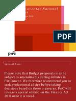 PwC Budget Brief Nov2010
