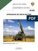 Mi-005 Operador de Grúa Militar