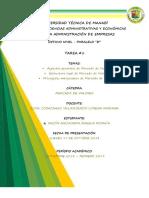 Mercado de Valores Tarea 1 Aspectos Estructura y Mecanismos - Copia