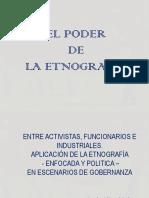 Elpoder de La Etnografia