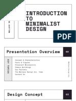 Black and White Architecture Presentation