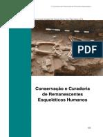 Conservação e Curadoria de Remanescentes Esqueléticos Humanos