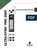 Manual Dsp9024   Equipo Berhinger Procesador de Audio