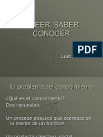 creer saber conocer power point.