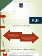 Ppt de Qquimica Reaccion de Maillard