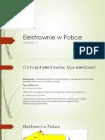 Elektorownie w Polsce