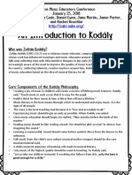 Intro to Kodaly Imec Handout 2018