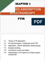 INFRARED ABSORPTION SPECTROSCOPY