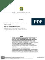 Decisão TRE-GO que cassou o diploma de Marco Túllio Pinto da Silva