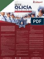 Policía municipal Ecatepec 2019 convocatoria