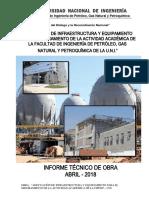 Informe Obra - Abril Adecuacion - Fipgp - 2018