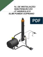 Manual de Instalacao e Manutencao Kit Hidraulico Slim Power