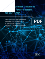 Ibm Power Systems for Sap Hana