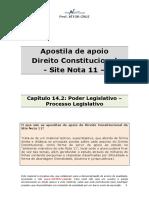14.2 - Poder Legislativo Processo Legislativo