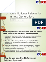 Constitutional Reform for a New Generation.pptx Template