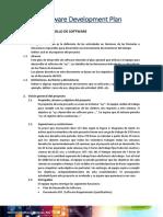 Software Development Plan ADSI1