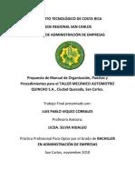 TESIS TALLERES DE MECANICA