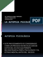 La autopsia psicologica