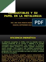 Combustibles y Su Papel en La Metalurgia Clase 2