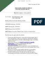 Hirschfeld v ATF Briefing order