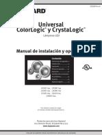 Manual Colorlogic Hayward