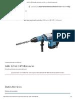 GBH 12-52 D Martillo Perforador Con SDS Max _ Bosch Professional