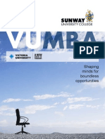 VUMBA- Sunway University College 2011