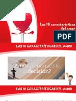 Las 10 Características Del Amor- Plantila- Para Invitados