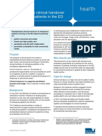 Standardised Handover Protocol 2014 - PDF