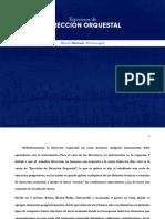 Ejercicios de Direccion Orquestal