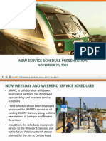 SMART New Service Schedule Presentation